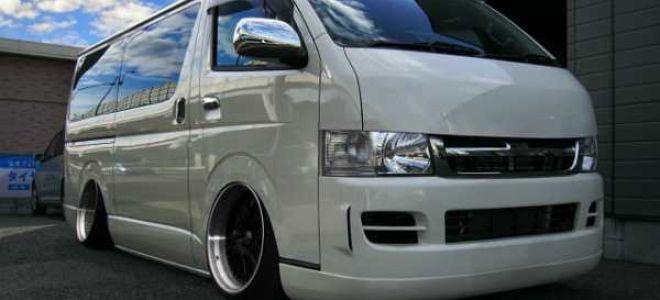 Пневматическая подвеска Toyota Hiace