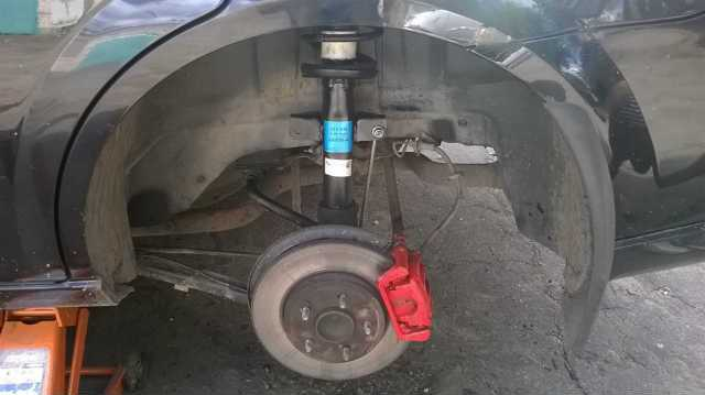 ремонт амортизатора